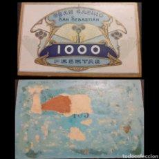 Monedas locales: FICHA GRAN CASINO 1000 PTS. SAN SEBASTIAN. Lote 195098062