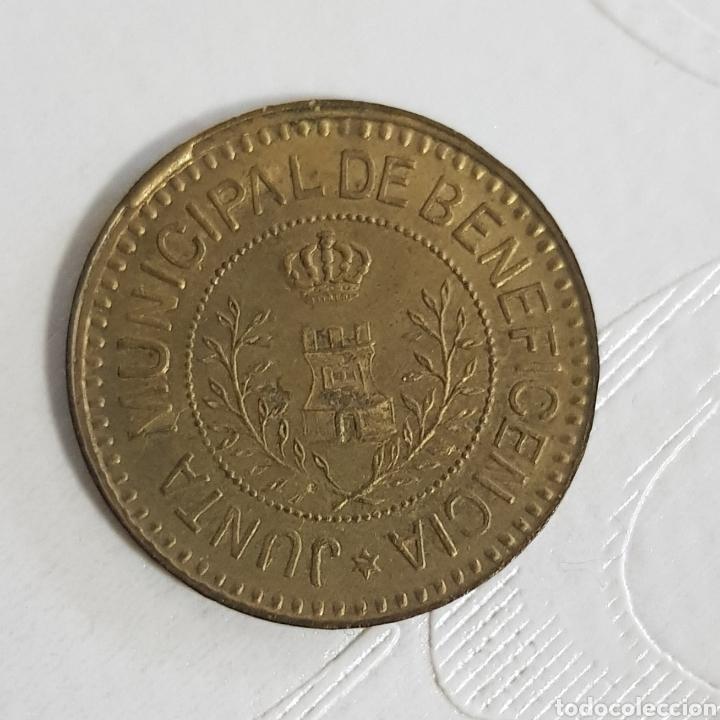 Monedas locales: RARA MONEDA COCINA ECONOMICA VIGO 2.5 CTS BENEFICENCIA BUENISIMA CONSERVACION - Foto 2 - 195208093