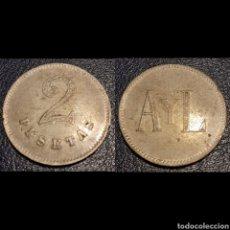 Monedas locales: FICHA CASINO 2 PTS. Lote 195493837