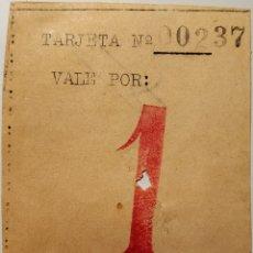 Monedas locales: VALE DEL COMITÉ REGIONAL DE GRUPOS ANARQUISTAS DE CATALUÑA - COMITÉ DE RELACIONES F.A.I.. Lote 195504207