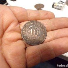 Monedas locales: MONEDA GUERRA CIVIL 1937 10 CENTIMS IGUALADA. Lote 195506140