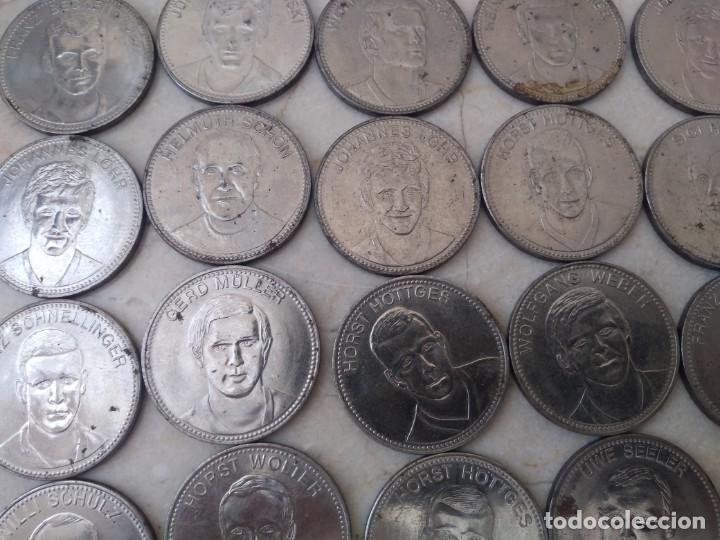 Monedas locales: 23 monedas Token jeton Mundial Mexico 70 - Foto 3 - 195641411