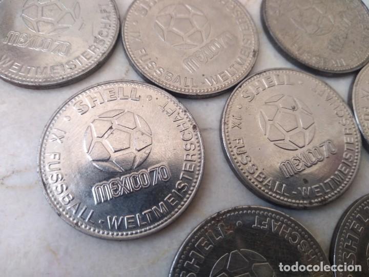 Monedas locales: 23 monedas Token jeton Mundial Mexico 70 - Foto 4 - 195641411
