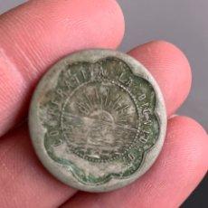 Monedas locales: FICHA. COOPERATIVA LA DIGNIDAD. 10 CÉNTIMOS. Lote 195729177
