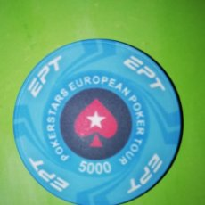 Monedas locales: FICHA DE POKER . Lote 196365970