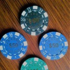 Monedas locales: LOTE FICHAS CASINO NEVADA. Lote 196516125