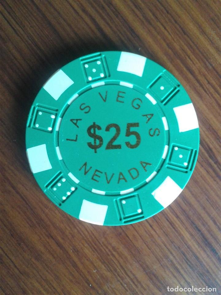 Monedas locales: LOTE FICHAS CASINO NEVADA - Foto 2 - 196516125
