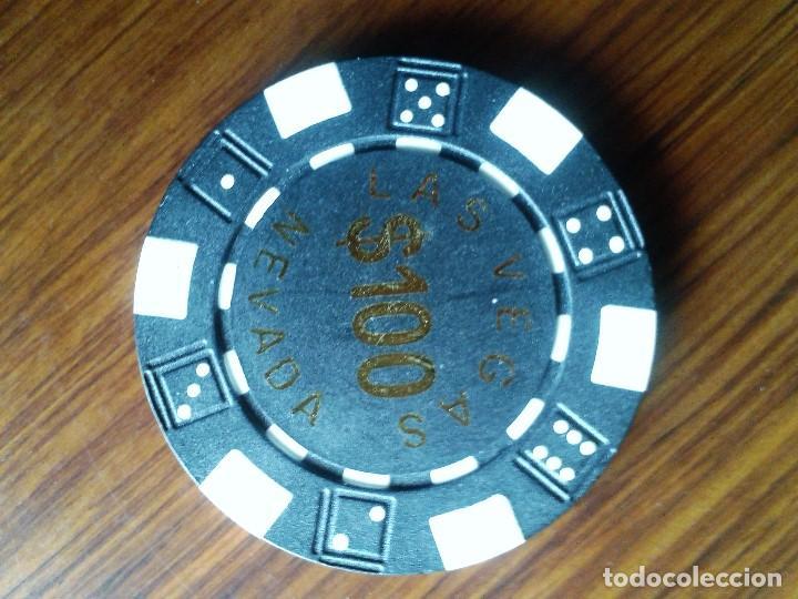 Monedas locales: LOTE FICHAS CASINO NEVADA - Foto 4 - 196516125