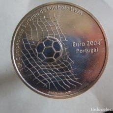 Monedas locales: PORTUGAL . 1000 ESCUDOS DE PLATA ANTIGUOS. AÑO 2004 . UEFA . NUEVA Y BRILLANTE. Lote 220613887