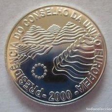 Monedas locales: PORTUGAL . 1000 ESCUDOS DE PLATA ANTIGUOS. AÑO 2000 . NUEVA Y BRILLANTE. Lote 199180838