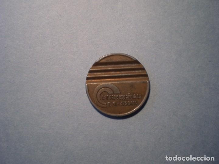 FICHA CARCARE ESPAÑOLA S.A. (Numismática - España Modernas y Contemporáneas - Locales y Fichas Dinerarias y Comerciales)