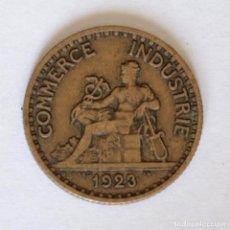 Monedas locales: FICHA/JETON/TOKEN 1 FRANC FRANCIA 1923 COMMERCE INDUSTRIE. Lote 202589708