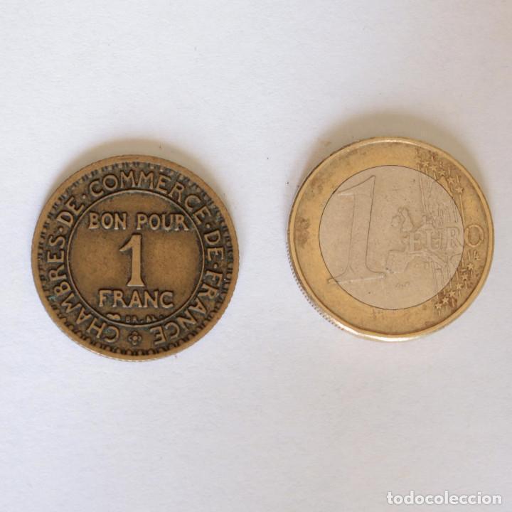 Monedas locales: FICHA/JETON/TOKEN 1 FRANC FRANCIA 1923 COMMERCE INDUSTRIE - Foto 2 - 202589708