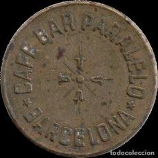 Monedas locales: AL1003 - CAFÉ BAR PARALELO - 25 CTS. Lote 203444541
