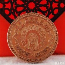 Monedas locales: FICHA DE 100 DORADOS EL DORADO MAGALUF MALLORCA. Lote 222290705
