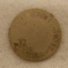 Monedas locales: MUY RARA FICHA CAFE? MENDEZ NUÑEZ PONTEVEDRA UNIFAZ MONEDAS GALLEGAS. Lote 204072268
