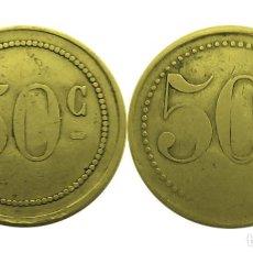 Monedas locales: FICHA NECESIDAD VALOR 50 C. Lote 204132978