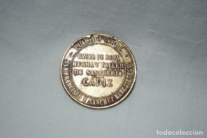 Monedas locales: FICHA COMERCIAL , LA CONFIANZA , CADIZ . - Foto 2 - 205204396