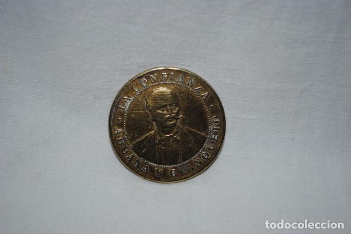Monedas locales: FICHA COMERCIAL , LA CONFIANZA , CADIZ . - Foto 3 - 205204396