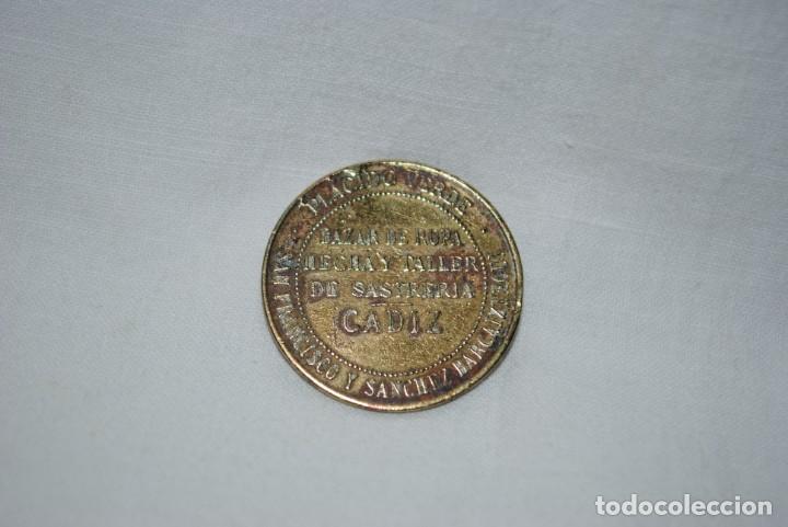 Monedas locales: FICHA COMERCIAL , LA CONFIANZA , CADIZ . - Foto 4 - 205204396