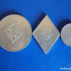 Monedas locales: (FCP-49)LOTE DE 3 FICHAS DE CASINO DE BARCELONA. Lote 205356063