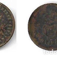 Monedas locales: MATARO **COOPERATIVA PROTECTORA MATERONESA 5 CENTIMOS **. Lote 205567352