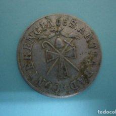 Monedas locales: MONEDA DE NECESIDAD EN ALUMINIO DE CONFERENCIA SANT ABAD DE ASTURIAS. REVERSO LECHE. ---8. Lote 205580780