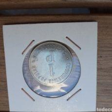 Monedas locales: FICHA COOPERATIVA DE 1PESETA CASTELLTERSOL. Lote 205826248