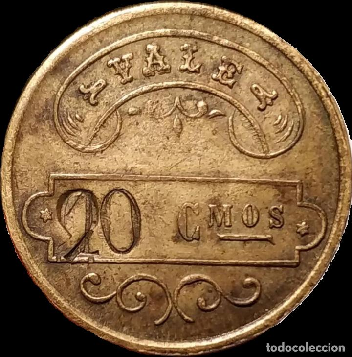 Monedas locales: ficha del Asilo Hospital Cholbi - Jávea (Xàbia) - Alicante - Foto 2 - 207069726