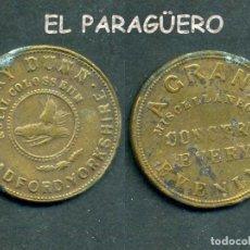 Monedas locales: JETON - FICHA - TOKEN - GRAN CONCIERTO VARIOS TODAS LAS TARDES - Nº3. Lote 209049206