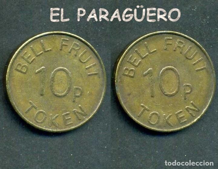 JETON - FICHA - TOKEN 10P BELL RUIT = CAMPANA DE CRISTAL - Nº4 (Numismática - España Modernas y Contemporáneas - Locales y Fichas Dinerarias y Comerciales)