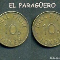 Monedas locales: JETON - FICHA - TOKEN 10P BELL RUIT = CAMPANA DE CRISTAL - Nº4. Lote 209049876