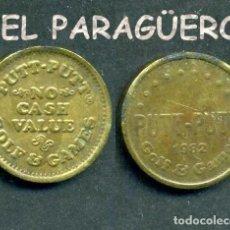 Monedas locales: JETON - FICHA - TOKEN - AÑO 1982 - GOLF GAMES = JUEGOS DE GOLF - Nº6. Lote 209054077