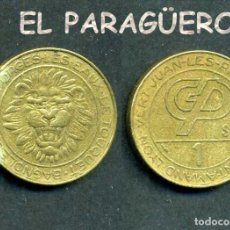 Monedas locales: JETON - FICHA - TOKEN - AÑO 1988 - 1 -VICHY FORJA ( LEON ) - Nº10. Lote 209059325