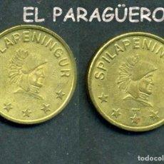 Monedas locales: JETON - FICHA - TOKEN -SPILAPENINGUR - PAPAS FRITAS - Nº12. Lote 209060690