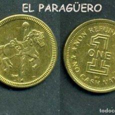Monedas locales: JETON - FICHA - TOKEN - 1 CASH - ( CABALLITO ) Nº16. Lote 209063173