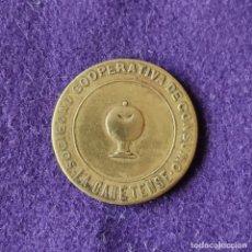 Monedas locales: FICHA MONEDA SOCIEDAD COOPERATIVA DE CONSUMO LA CANETENSE. 5 CENTIMOS. CANET DE MAR (BARCELONA).. Lote 209694480
