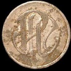 Monedas locales: AL3122-24 FICHAS DE LA COLONIA PALÀ - PUIGREIG (5, 10 Y 50 CTS). Lote 210078372
