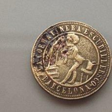 Monedas locales: ANTIGUA FICHA COMERCIAL ESCUDILLERS 60 BARCELONA CORBATINES. Lote 210096380