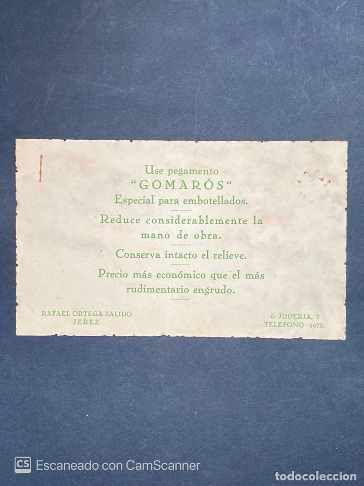 Monedas locales: VALE POR UN BARRIL GOMAROS. RAFAEL ORTEGA SALIDO. JEREZ. 1958. VER FOTOS. - Foto 2 - 210825429