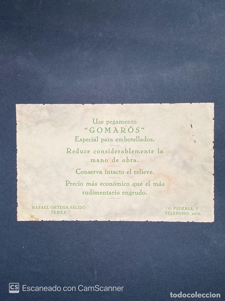 Monedas locales: VALE POR 1 BARRICA GOMAROS. RAFAEL ORTEGA SALIDO. JEREZ. 1958. VER FOTOS. - Foto 2 - 210825757