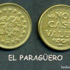 Monedas locales: JETON - FICHA - TOKEN - ( AGUILA ) Nº21. Lote 211629330