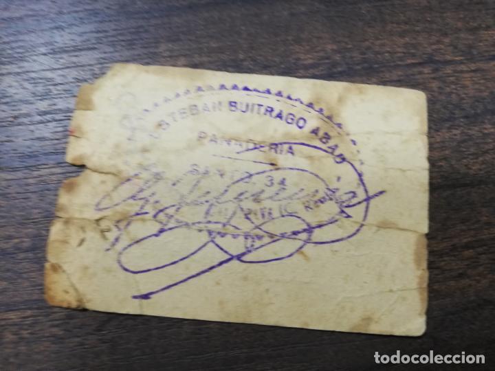 Monedas locales: VALE DE PAN. PANADERIA ESTEBAN BUITRAGO ABAD. CARRION DE CALATRAVA. VALE DE TRES PANES. - Foto 2 - 211653436