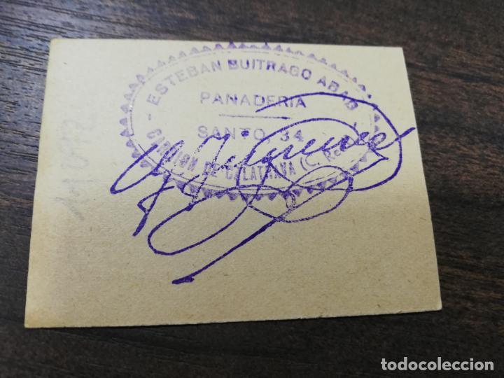 Monedas locales: VALE DE PAN. PANADERIA ESTEBAN BUITRAGO ABAD. CARRION DE CALATRAVA. VALE DE TRES PANES. - Foto 2 - 211653525