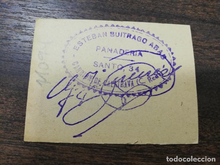 Monedas locales: VALE DE PAN. PANADERIA ESTEBAN BUITRAGO ABAD. CARRION DE CALATRAVA. VALE DE TRES PANES. - Foto 2 - 211653615