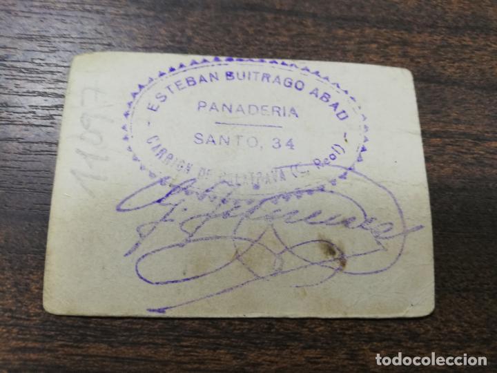 Monedas locales: VALE DE PAN. PANADERIA ESTEBAN BUITRAGO ABAD. CARRION DE CALATRAVA. VALE DE UN PAN. - Foto 2 - 211653771