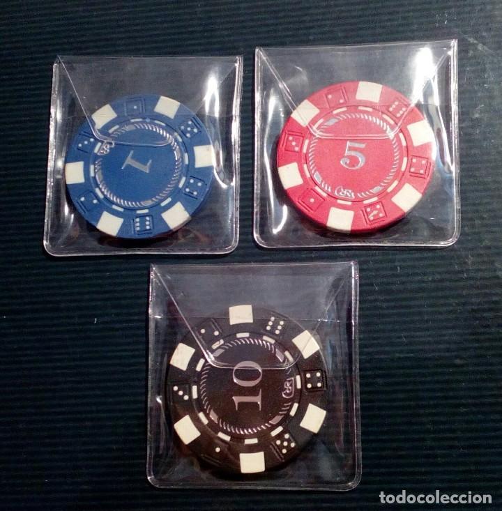 Monedas locales: LOTE DE 3 FICHAS DE JUEGO DE LA TIENDA TOUS - Foto 4 - 211672530