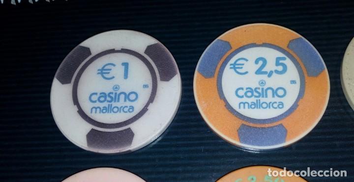 Monedas locales: LOTE DE 15 FICHAS DE CASINOS DE ESPAÑA - Foto 2 - 211673349