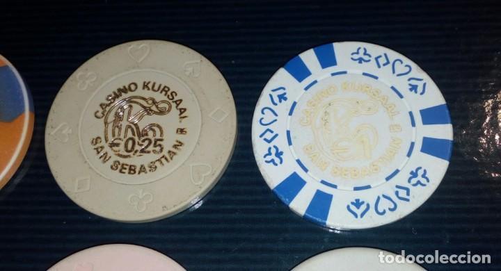 Monedas locales: LOTE DE 15 FICHAS DE CASINOS DE ESPAÑA - Foto 3 - 211673349