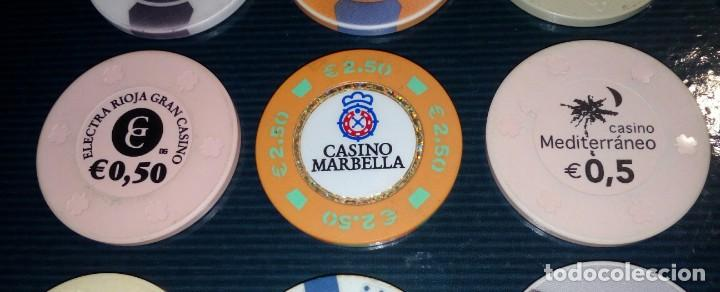 Monedas locales: LOTE DE 15 FICHAS DE CASINOS DE ESPAÑA - Foto 4 - 211673349